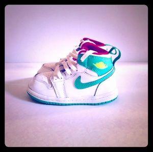 JORDAN AJ1 Such A Diva High Top Sneakers